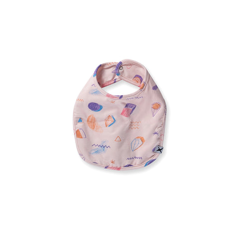 Minti Baby Coloured Pencil Bib - Ballet