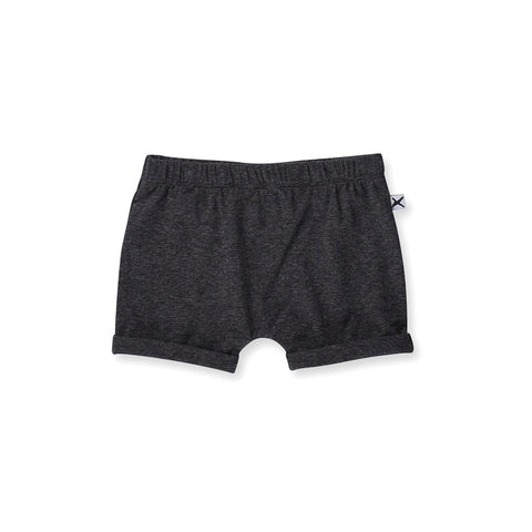 Minti Baby Easy Short - Black Motley