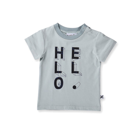 Minti Baby Hello Shapes Tee - Green