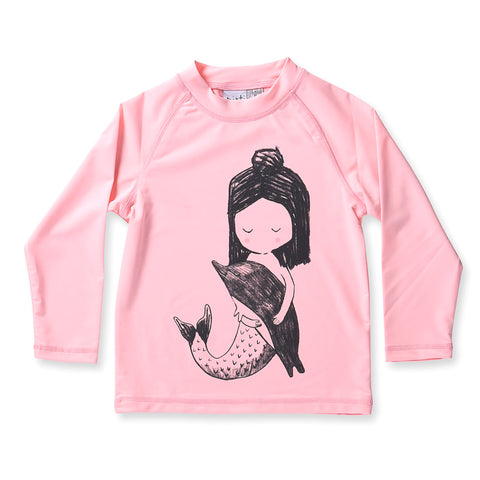 Minti Mermaid LS Rashie - Lolly