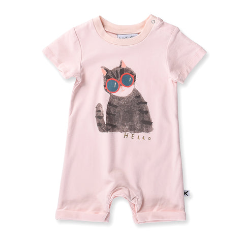 Minti Baby Painted Cat Brooklyn Suit - Ballet