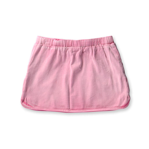 Minti Patio Denim Skirt - Pink Wash