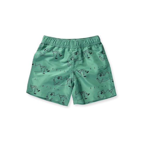 Minti Relax Boardies - Kelly Green