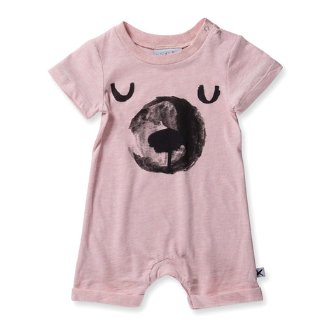Minti Baby Sleepy Bear Brooklyn Suit - Ballet