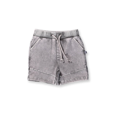 Minti Sliced Short - Grey Wash