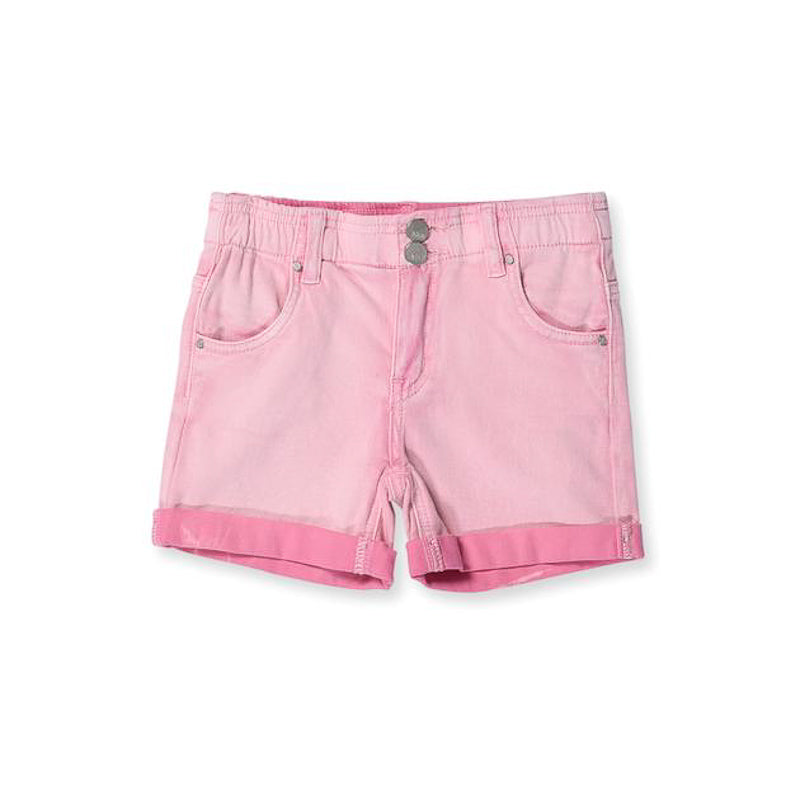 Minti Stroll Denim Short Pink Wash Shorts Minti - Little Styles