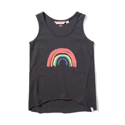 Missie Munster Pots of Gold Jersey Singlet - Soft Black