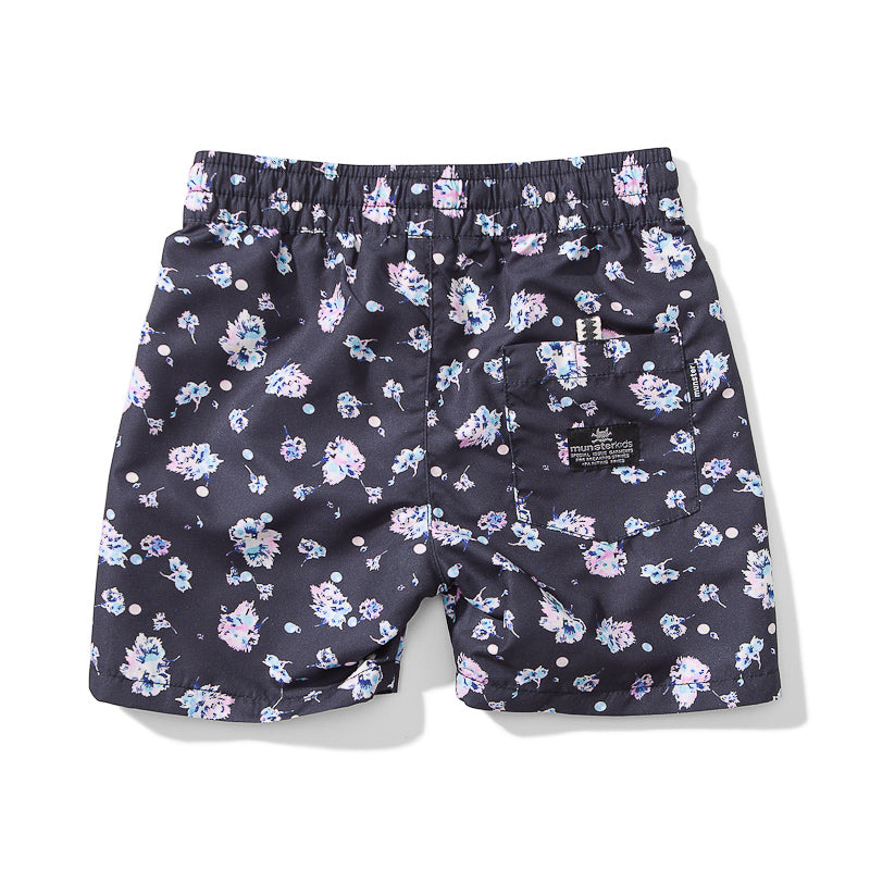 Munster Buddy Poly Board Short - Charcoal Shorts Munster - Little Styles