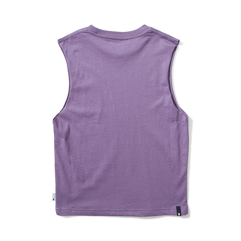 Munster Chopper Jersey Tee - Grape Tops Munster - Little Styles