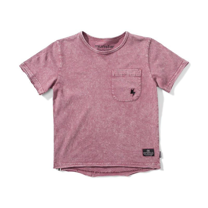 Munster Clasik 2 Jersey Short Sleeve Tee - Acid Grape Tops Munster - Little Styles