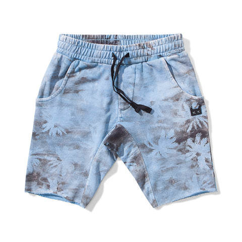 Munster Shipwreck Fleece Short - Washed Blue