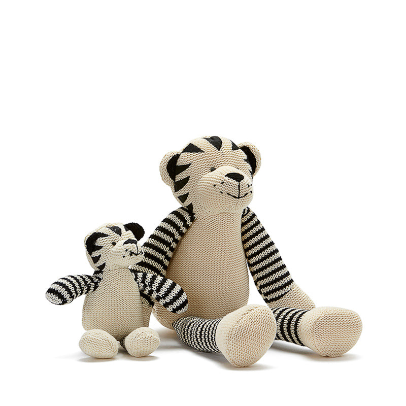 Nana Huchy Tommy The Tiger Rattle Toys Nana Huchy - Little Styles
