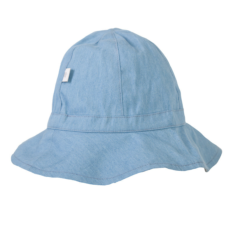 Peggy Melissa Hat In Chambray Hats and Beanies Peggy - Little Styles