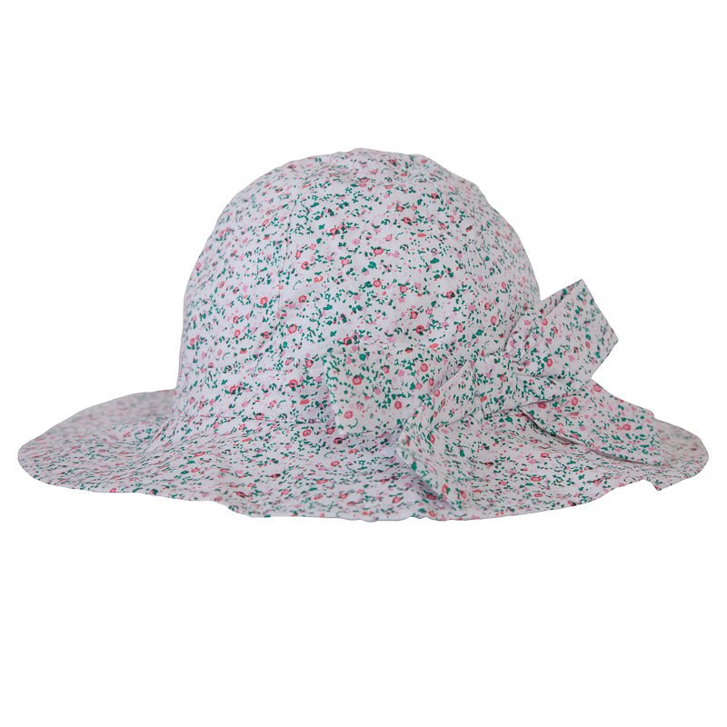 Peggy Melissa Hat in Mini Pink Floral Hats and Beanies Peggy - Little Styles
