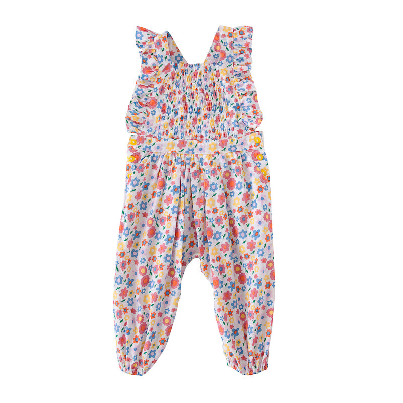 Peggy Mia Playsuit in Pop Floral Playsuits Peggy - Little Styles
