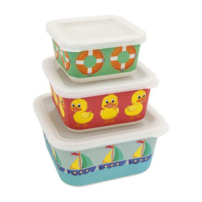 Sunnylife Eco Nesting Boxes - Ducky Set of 3 Bags Sunnylife - Little Styles