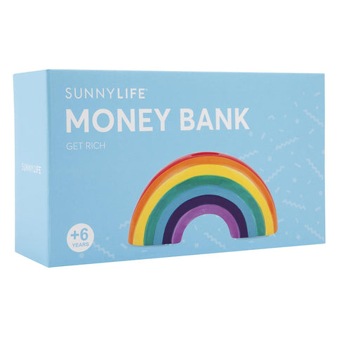 Sunnylife Rainbow Money Bank