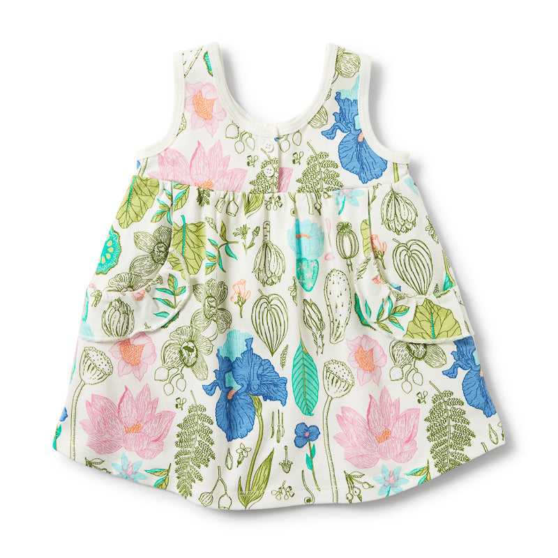 Wilson & Frenchy Flora Ruffle Pocket Dress Dress Wilson & Frenchy - Little Styles