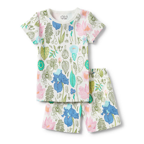 Wilson & Frenchy Flora Short Sleeve Pyjama Set