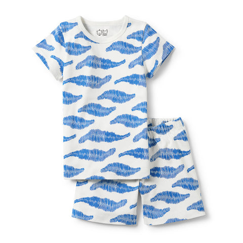 Wilson & Frenchy Jungle Leaf Short Sleeve Pyjama Set