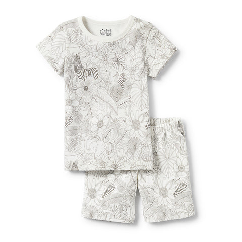 Wilson & Frenchy Peekaboo Short Sleeve Pyjama Set