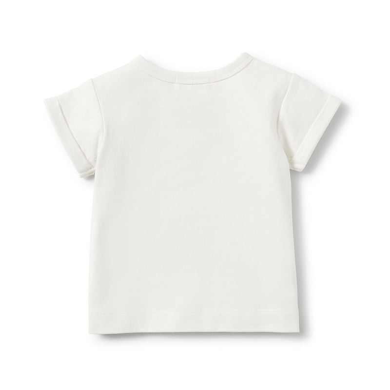 Wilson & Frenchy Secret Garden Rolled Cuff Tee Tops Wilson & Frenchy - Little Styles