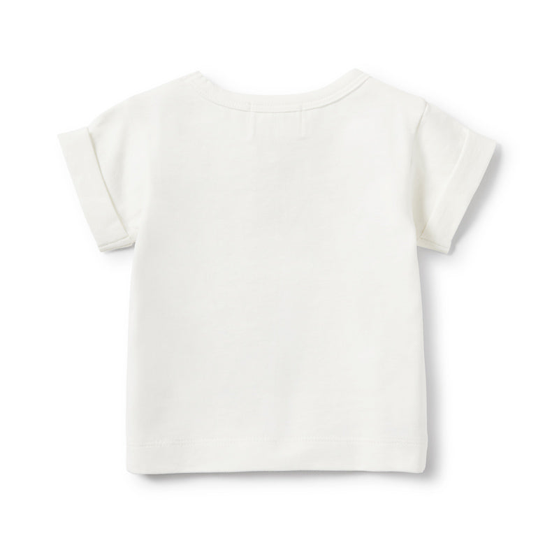Wilson & Frenchy Toucan Rolled Cuff Tee Tops Wilson & Frenchy - Little Styles