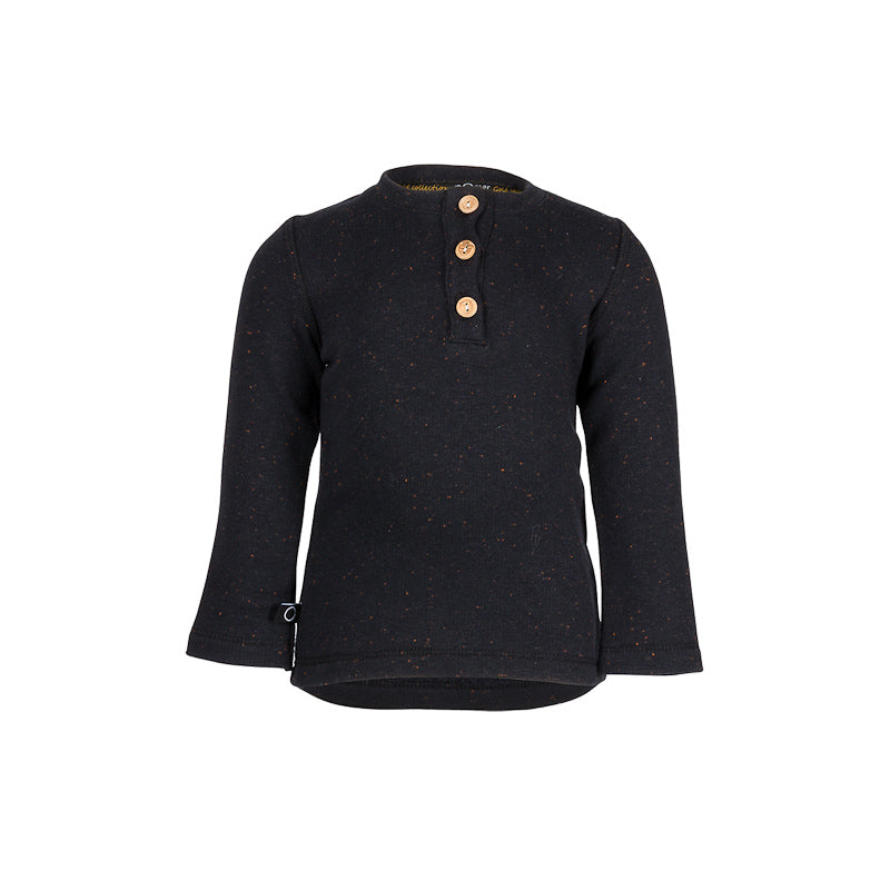 nOeser Hilly Long Sleeve Tee - Eclipse Black Tops nOeser - Little Styles