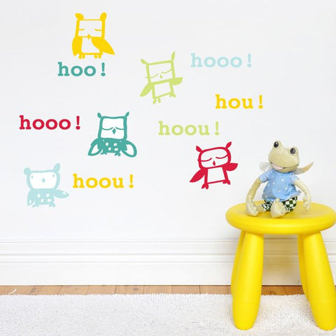 41 Orchard Hou Hooo wall decal