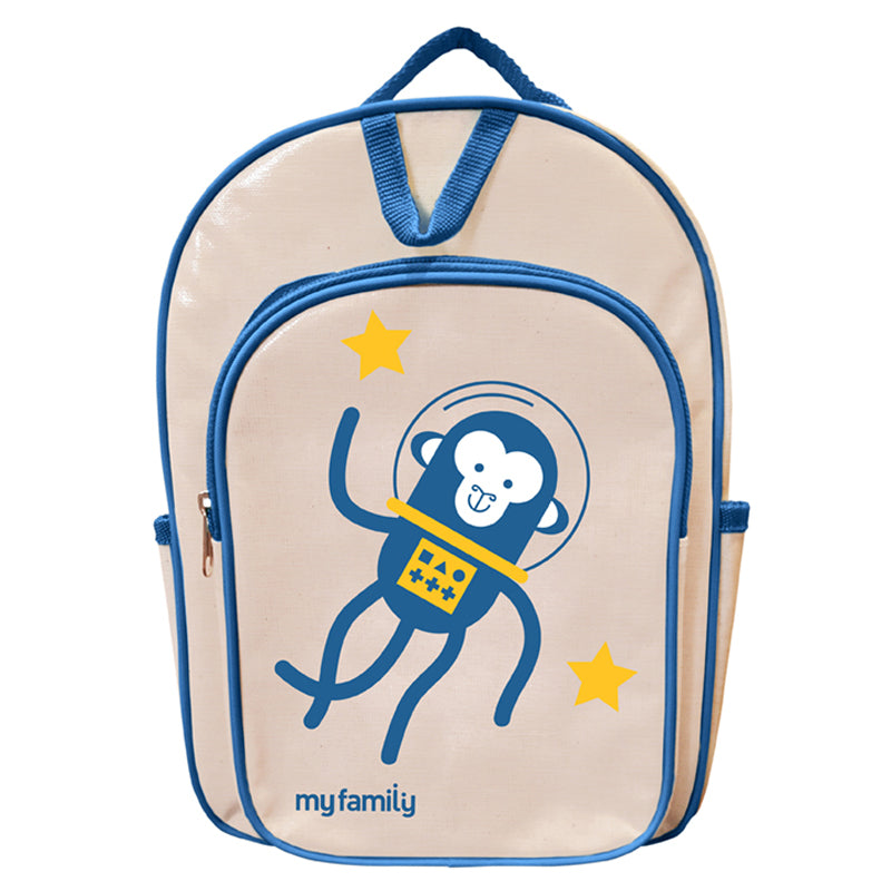 My Family Monkey Back Pack Bags My Family - Little Styles