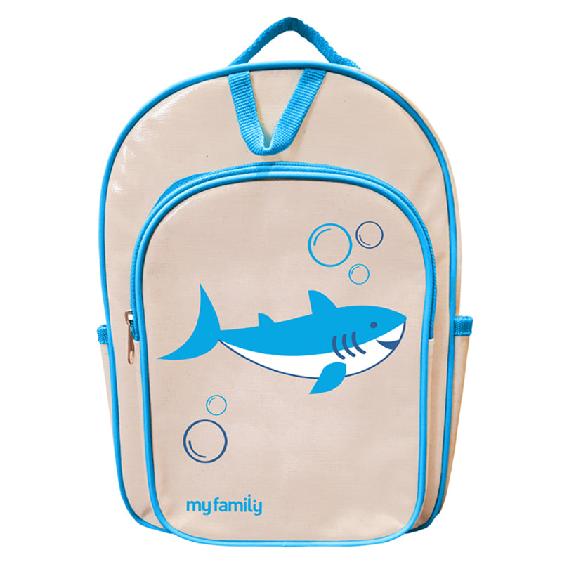 My Family Shark Back Pack Bags My Family - Little Styles