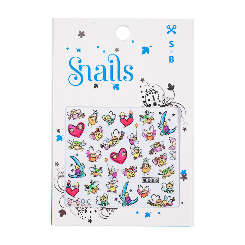 Snails Nail Stickers - Story Telling Accessories Snails Nail Polish - Little Styles