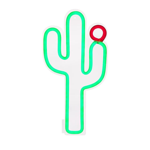 Sunnylife Cactus Neon LED Wall Small Aus