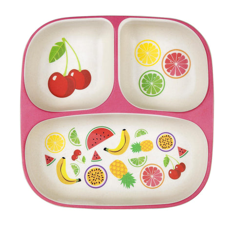 Sunnylife Eco Kids Plate Fruit Salad