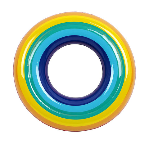 Sunnylife Kiddy Pool Ring Rainbow