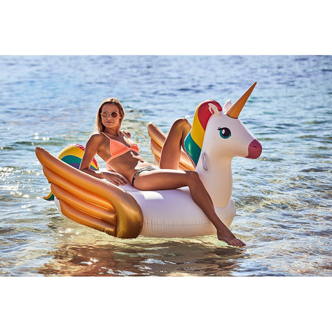 Sunnylife Luxe Ride-On Float - Unicorn