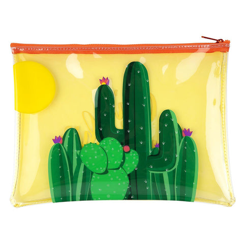 Sunnylife See-Through Pouch - Cactus