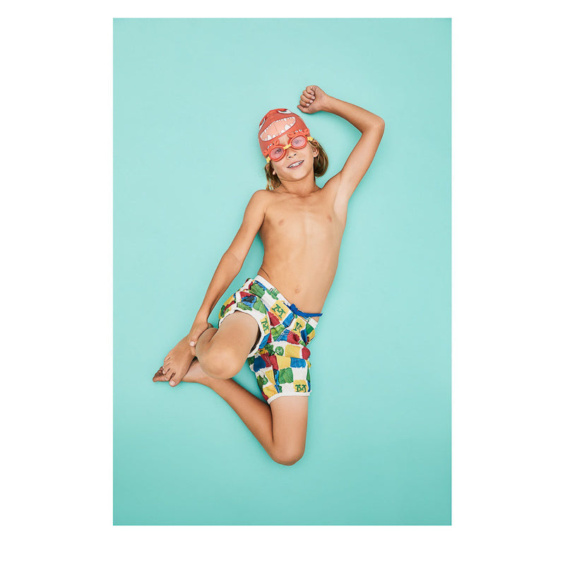 Sunnylife Swimming Cap Fishy - Red Summer Essentials Sunnylife - Little Styles
