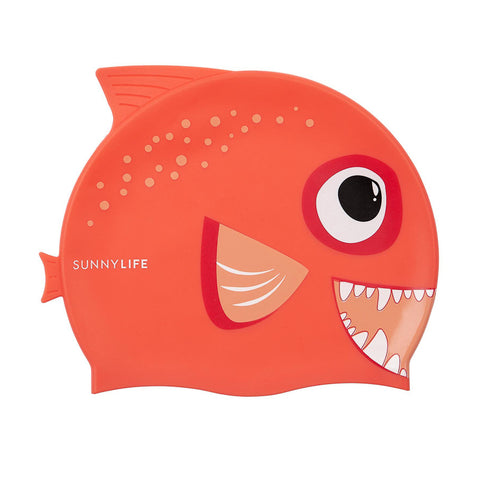 Sunnylife Swimming Cap Fishy - Red