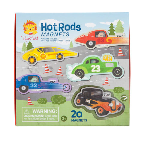 Tiger Tribe Hot Rod Magnets