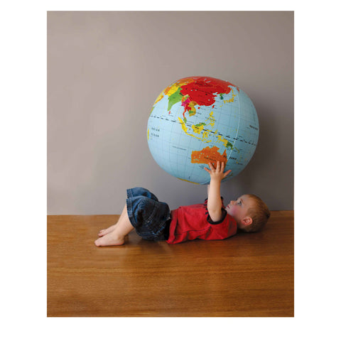 Tiger Tribe Large World Globe - 50cm