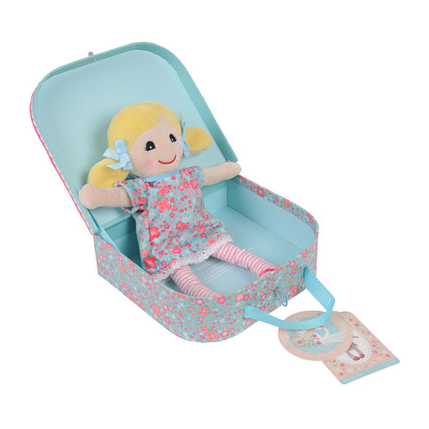 Tiger Tribe Baby Rag Doll - Sophie (Blue)