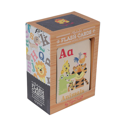 Tiger Tribe Flash Cards - Animal ABC