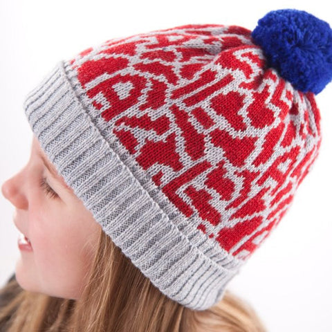 Acorn Patriot beanie in Blue