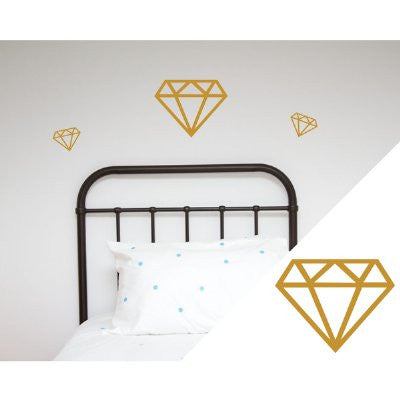 General Eclectic Wall stickers - diamonds gold