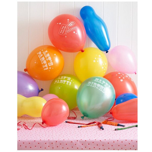 Talking Tables Cake Central balloons
