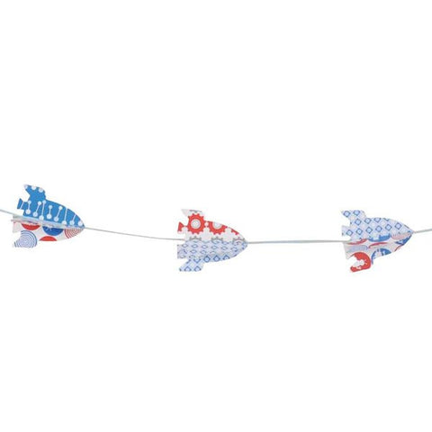 Tiger Tribe Paper Moon garland - rocket