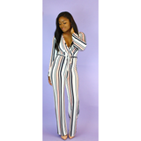 Shayla Striped Jumpsuit