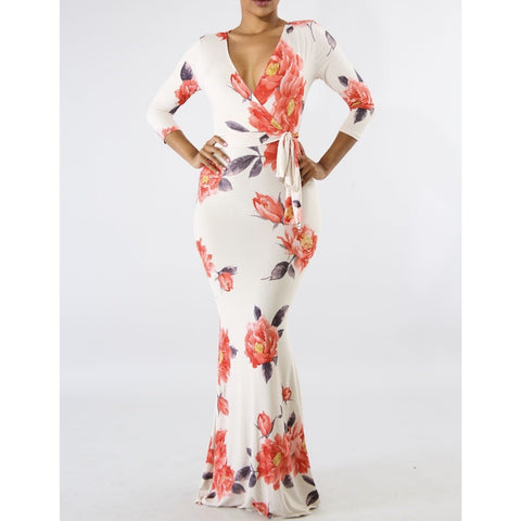 Floral Majesty Dress