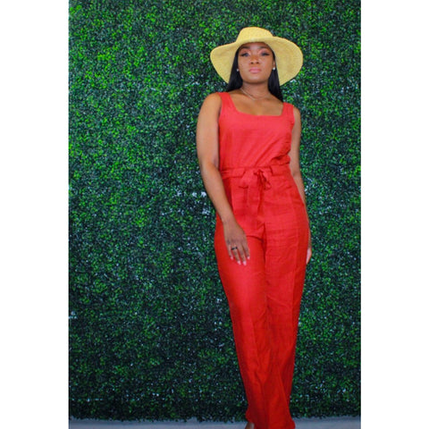 Classy Summer Days Jumpsuit